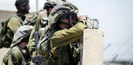 الجيش الاسرائيلي والنظر الى السماء