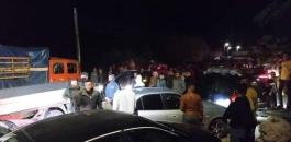 وفاة في حادث سير قرب تياسير