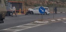 اطلاق النار على شاب فلسطيني قرب اريئيل