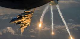 قصف يستهدف الحرس الثوري الايراني