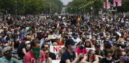 الاحتجاجات في اميركا