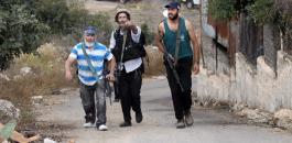 المستوطنون في قريوت
