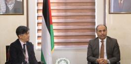 وزير الزراعة الفلسطيني
