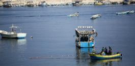 البحرية الاسرائيلية ومراكب الصيادين في غزة