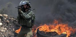 اطلاق النار على شاب فلسطيني في بيت سيرا