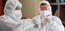 الاصابات بفيروس كورونا