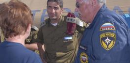 وفد عسكري روسي في اسرائيل
