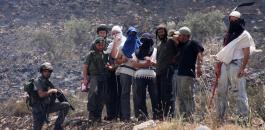 مستوطنو يتسهار والجيش الاسرائيلي