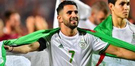 قائد المنتخب الجزائري ومصر
