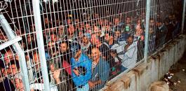 اعداد العمال الفلسطينيين في اسرائيل