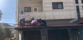 اصابة شاب بعد ان القى بنفسه من اعلى بناية في بيتونيا