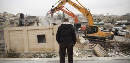 جرافات تهدم منازل الفلسطينيين في القدس