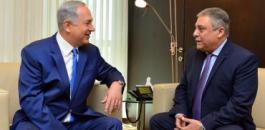 نتنياهو وسفير مصر