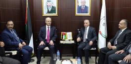 رامي الحمد الله ورئيس مجلس القضاء الاعلى