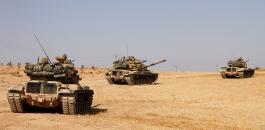 الجيش التركي والجيش السوري