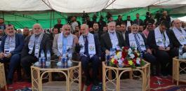 هنية وحماس ومستشفى في رفح