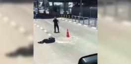 اطلاق النار على شاب في قلنديا