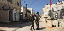 اصابة فلسطيني بجراح بعد اطلاق النار عليه في الخليل