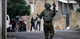 اصابات في قمع الاحتلال لمسيرة في بيت دجن شرق نابلس