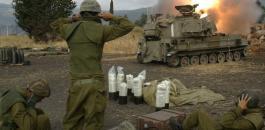 جيش الاحتلال يقصف مواقع للنظام السوري في الجولان