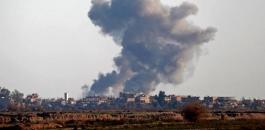 قصف اسرائيلي يستهدف دمشق