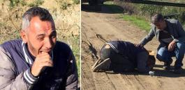 لاجئ سوري يفقد ابنه وابنته