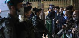 منع الفلسطينيين من اداء صلاة الفجر في الحرم الابراهيمي الشريف