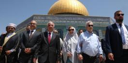 زيارة رئيس التشيلي للمسجد الأقصى