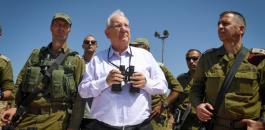 الرئيس الاسرائيلي وحماس