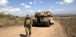 اغلاق الجولان بعد غارات على سوريا