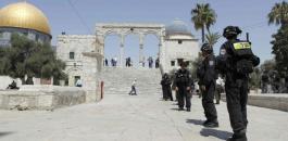 اسرائيل والاردن والمسجد الاقصى