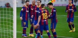 الاصابات في صفوف برشلونة