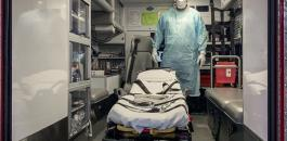نقل مريض فيروس كورونا من الخليل الى رام الله