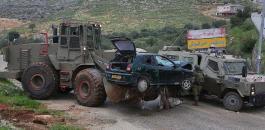 الاعتداءات الاسرائيلية في الضفة الغربية