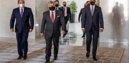 الرئيس السيسي والملك الاردني