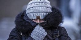 اجواء باردة في فلسطين