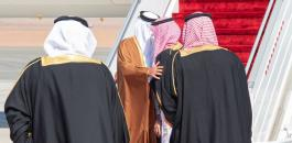 امير قطر وولي العهد السعودي