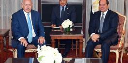 نتنياهو في مصر