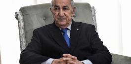 الرئيس الجزائري والبرلمان