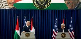 الادارة الامريكية وفلسطين