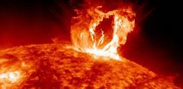 انفجار في الشمسي