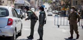 الفلسطينيين والقيود واسرائيل