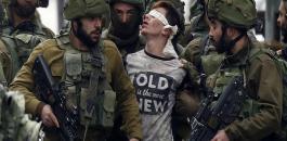 تعذيب اطفال فلسطينيين