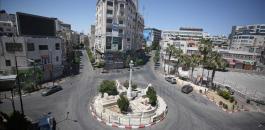 الاصابات بفيروس كورونا في الضفة الغربية