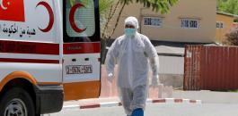 الوفيات والاصابات بفيروس كورونا بغزة