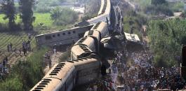 تصادم قطارات في مصر