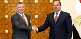مصر والاردن ومياه النيل