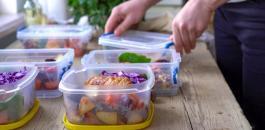 انقاص الوزن والطعام