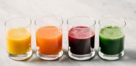 شرب العصير يوميا