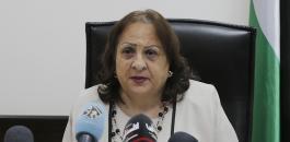 وزيرة الصحة وفيروس كورونا